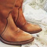Vintage Honey Boots: Alternate View #2
