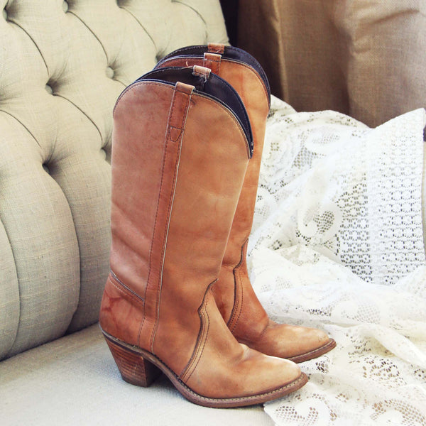 Vintage Honey Boots: Featured Product Image