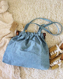 Vintage 70's Denim Tote: Alternate View #4