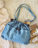 Vintage 70's Denim Tote: Alternate View #2
