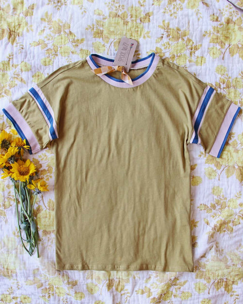 70's Mustard Tee: Featured Product Image