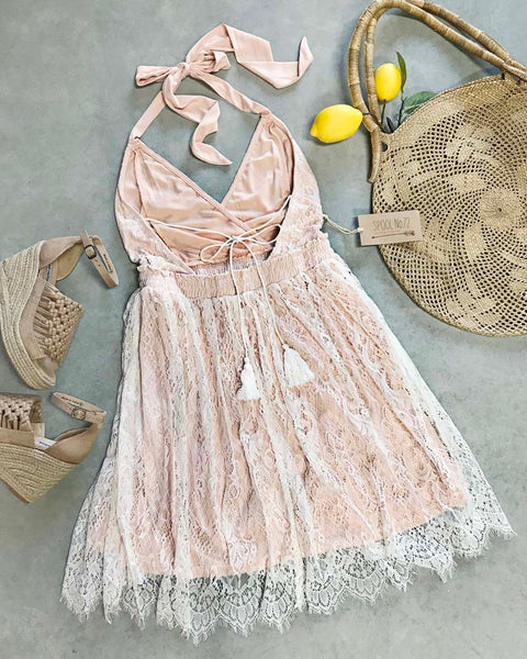 The 80 Degree Lace Dress: Featured Product Image
