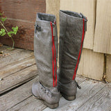 Smokestack Boots in Gray: Alternate View #1