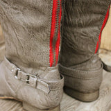 Smokestack Boots in Gray: Alternate View #3