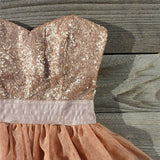 Ruffles & Rust Party Dress: Alternate View #2