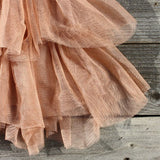Ruffles & Rust Party Dress: Alternate View #4