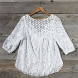 Moonflower Lace Blouse: Alternate View #3