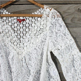 Moonflower Lace Blouse: Alternate View #4
