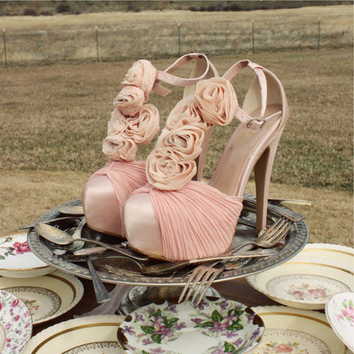 Bridal Bouquet Heels: Featured Product Image