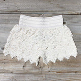 Easy Rider Shorts in Ivory: Alternate View #1