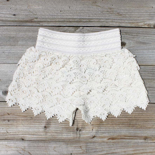 Easy Rider Shorts in Ivory: Featured Product Image