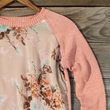 Library Card Sweater in Pink: Alternate View #3
