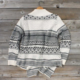 Wood Sled Sweater in Cream: Alternate View #2