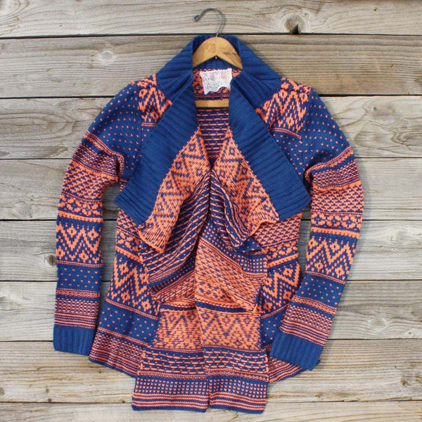 Wood Sled Sweater in Rust: Featured Product Image