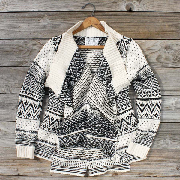 Wood Sled Sweater in Cream: Featured Product Image