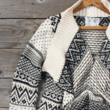 Wood Sled Sweater in Cream: Alternate View #3