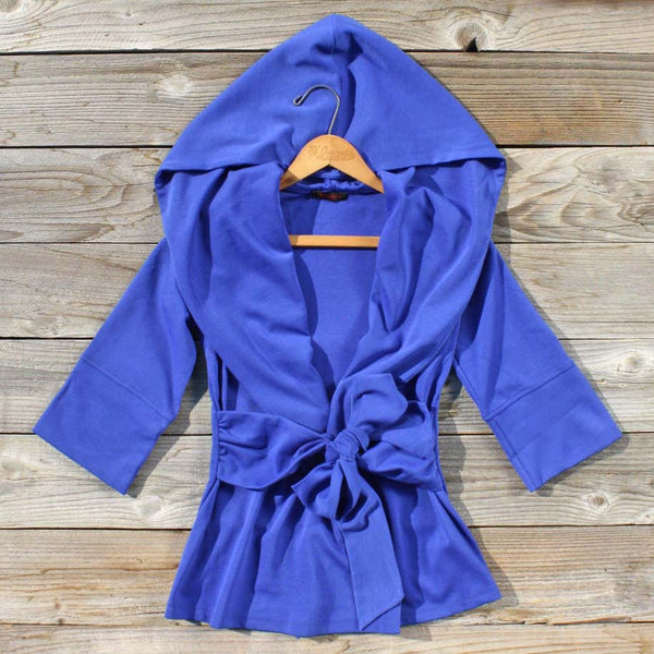Flyaway Hoodie in Blue: Featured Product Image