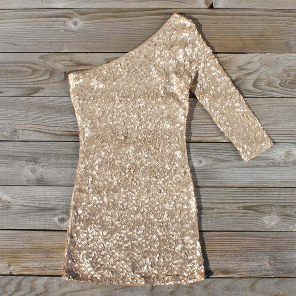 Golden Moon Dress in Gold: Featured Product Image