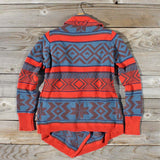 Fabled Canoe Sweater in Rust: Alternate View #2