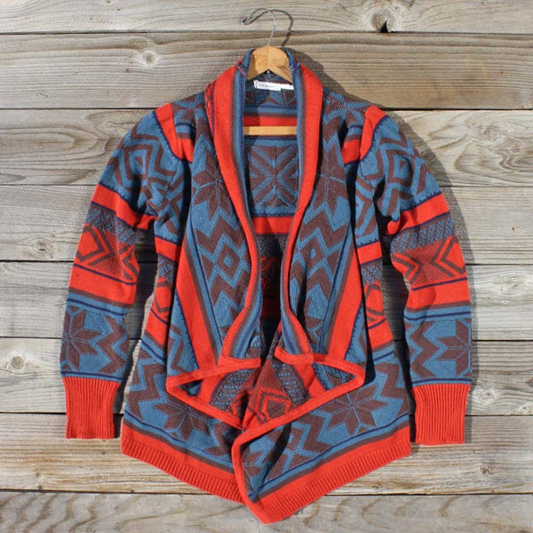 Fabled Canoe Sweater in Rust: Featured Product Image