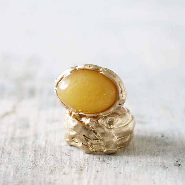 Spun Amber Ring: Featured Product Image