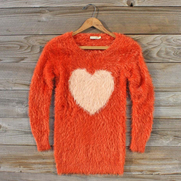 Kismet Cozy Sweater in Rust: Featured Product Image