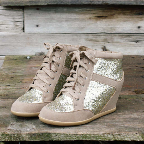 Glittering Stroll Tennies: Featured Product Image