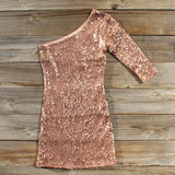 Rose Gold Party Dress: Alternate View #1