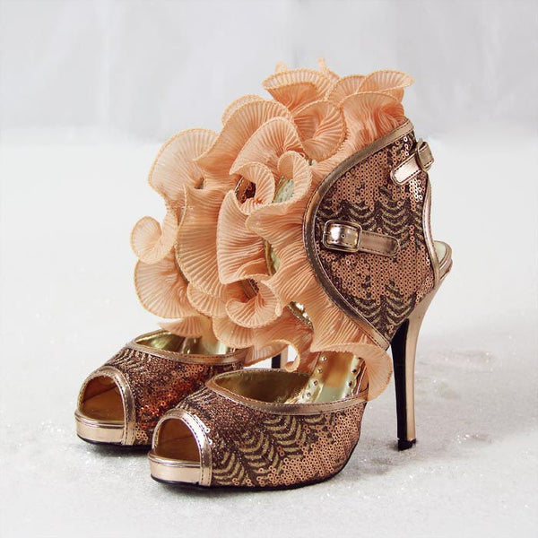 Tidings Ruffle Party Shoes: Featured Product Image