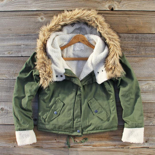Sherpa Coat: Featured Product Image