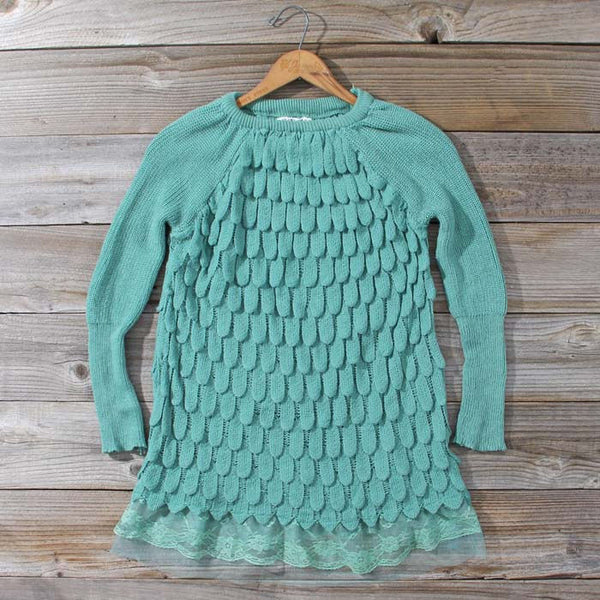 Rolling Mist Sweater in Mist: Featured Product Image