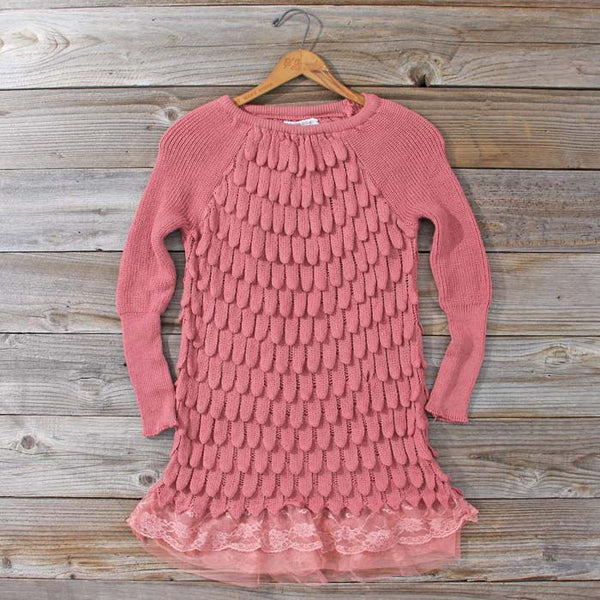 Rolling Mist Sweater in Dusty Pink: Featured Product Image