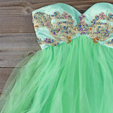 Minted Jewels Party Dress: Alternate View #2