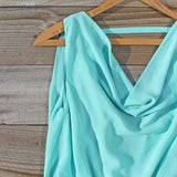 Sea Crystal Dress in Mint: Alternate View #2