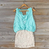 Sea Crystal Dress in Mint: Alternate View #4