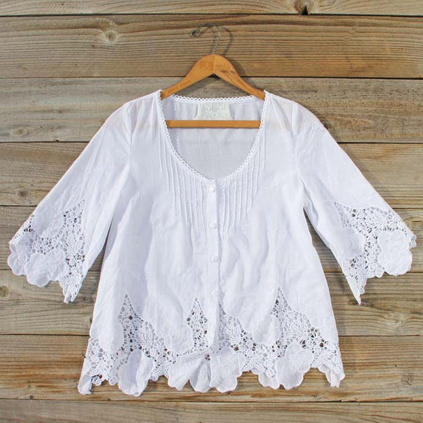 Forest Flower Blouse: Featured Product Image