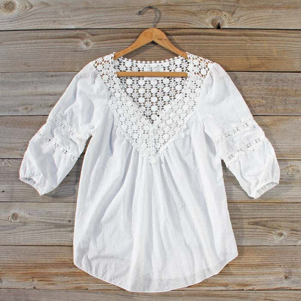 Sugared Breeze Blouse: Featured Product Image