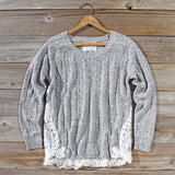 Hazy Stratus Lace Sweater: Alternate View #1