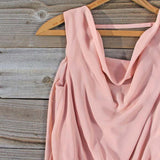 Sea Crystal Dress in Blush: Alternate View #2