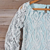 Ocean Kiss Lace Dress: Alternate View #4