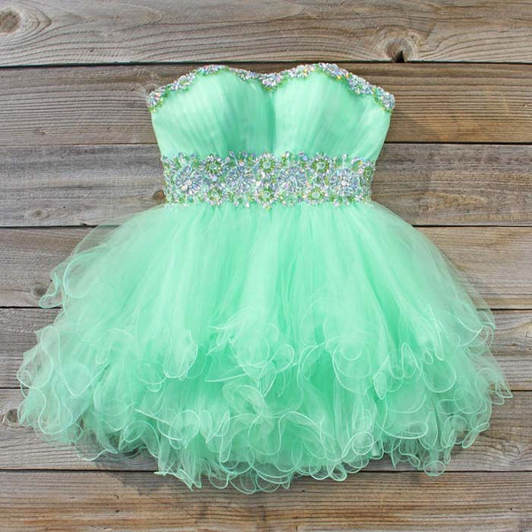 Spool Couture Mint Goddess Dress: Featured Product Image