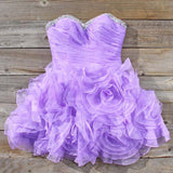 Spool Couture Wild Lavender Dress: Alternate View #1