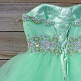 Spool Couture Mint Goddess Dress: Alternate View #3