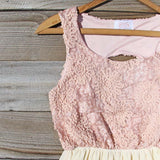 After the Rain Dress in Blush: Alternate View #2