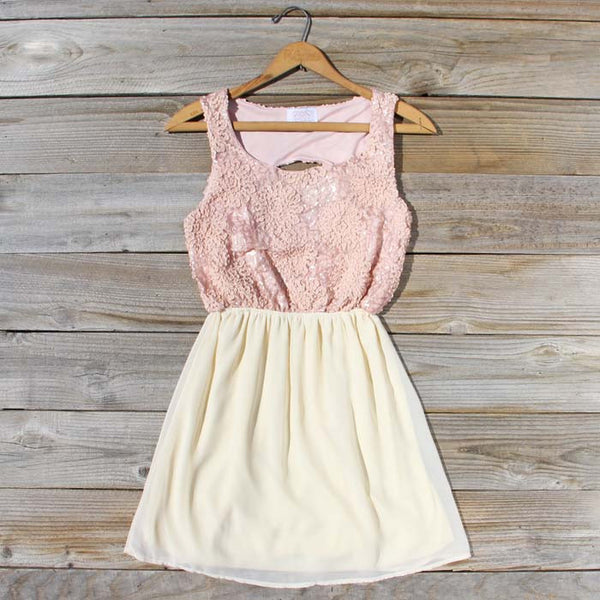 After the Rain Dress in Blush: Featured Product Image