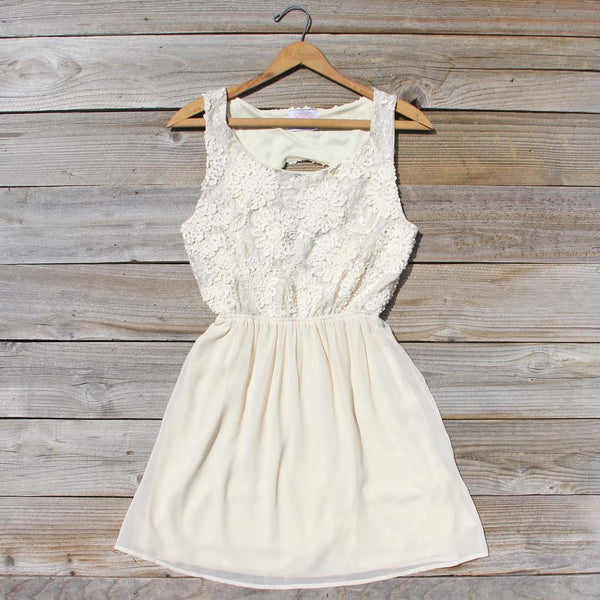 After the Rain Dress in Cream: Featured Product Image