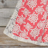 Aisle & Lace Dress in Geranium: Alternate View #3