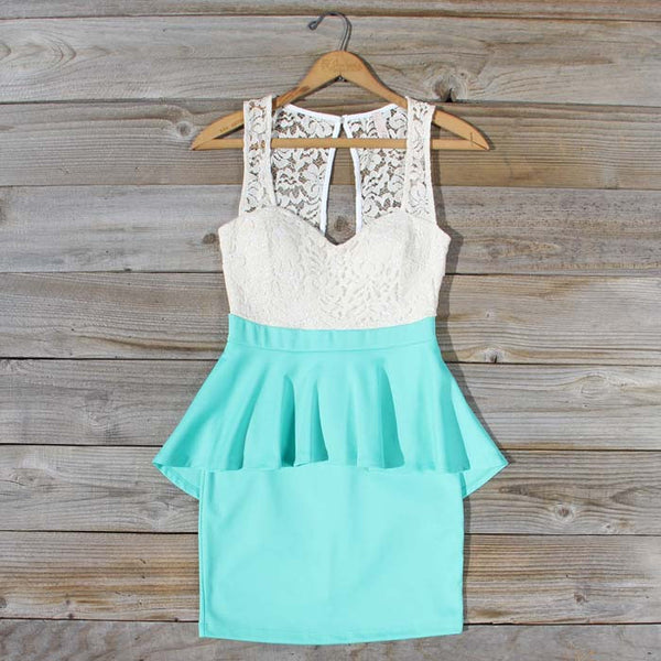 Always & Forever Dress in Mint: Featured Product Image