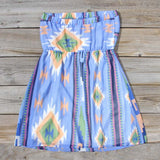 Ancient Meadow Dress in Blue: Alternate View #4