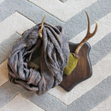 Ash & Smoke Scarf in Taupe: Alternate View #1